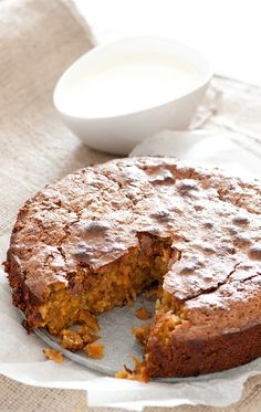 super moist carrot cake via The Stone Soup