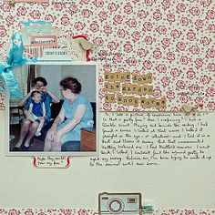 Layout by @Sian Lewis Fair of 'From High In The Sky'