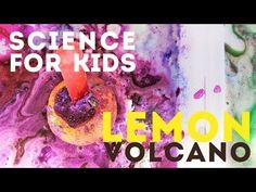 Science Activity for Kids: Lemon Volcano - Babble Dabble Do