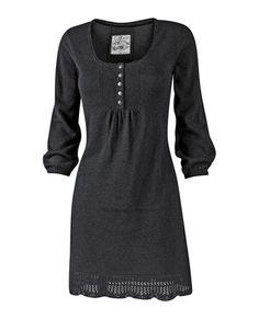 black dress ~ via FatFace.com (no longer available)