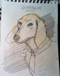 Franco Portinari - Giovanna Carbone - Visualizer - Storyboard Artist -Graphic design: piezz'e core sketches