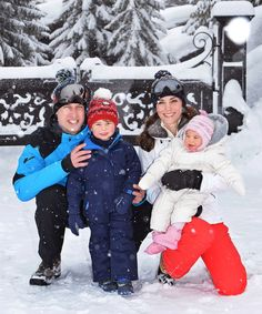 Princess Charlotte of Cambridge's Cutest Moments - Princess Charlotte Goes on Her First Ski Trip  - from InStyle.com