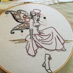 Steampunk Fairy - NEEDLEWORK  - Holiday crafts, Knitting, sewing, crochet, tutorials, children crafts, jewelry, needlework, swaps, papercrafts, cooking and so much more on Craftster.org