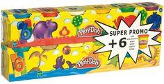 Play-Doh - Pack de 6+6 botes (23023186) Hasbro http://www.amazon.es/dp/B0018DIBCW/ref=cm_sw_r_pi_dp_lOMmub1CSHDT5