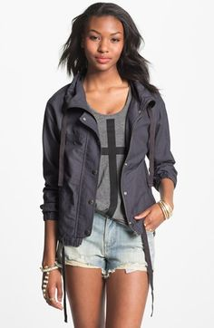 Rubbish 'Army Mac' Jacket (Juniors) available at #Nordstrom