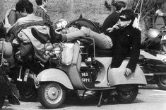 Mods & scooters 1960's