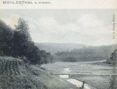 über den Brölbach führten mehrere Brücken ... wer weiß wohin ?