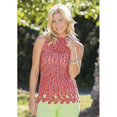 Make It Crochet | Your Daily Dose of Crochet Beauty | Free Crochet Pattern: Ginko Leaf Tank Top