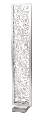 H155cm W30cm D30cm Tall Slim And Radiating Light From A Framed Nest Of Cool Floor Lampscool