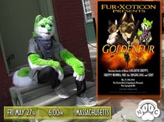What are you doing Friday, May 27th? Rocking out with the Singing Dog! NIIC is LIVE at Fur-Xoticon in Massachussetts at 6:00pm! For more info visit www.fur-xoticon.com