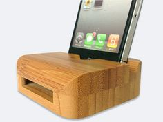 No electricity required bamboo speaker--neato