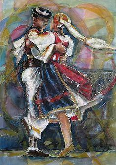 Radosť z pohybu-Detvanci / pucik - SAShE. European Countries, Ukraine, Dancing, Graffiti, Sculpture, Gallery, Diy, Inspiration, Ballroom Dancing