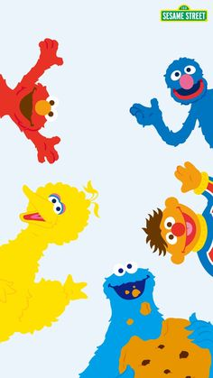 Sesame Street Elmo Wallpaper Disney Kawaii Iphone