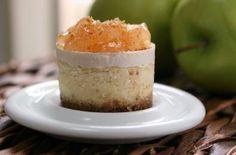 Apple Miniature Cheesecakes