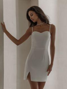 Semi Dresses, Puffy Dresses, Formal Dresses, Embellished Dress, Online Fashion Stores, Dress Making, Dress Up, Fashion Outfits, Script