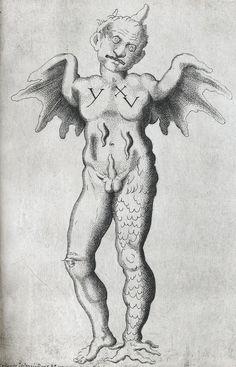 Opera nela quale ui e molti mostri de tutte le parti del mondo antichi et moderni (1585).  Engravings by Giovanni Battista de Cavalieri.