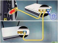 How to Connect One Router to Another to Expand a Network. This wikiHow teaches you how to add a secondary router to your home or small business network. If you want to add more computers or other devices to your home or small business. Computer Router, Internet Router, Modem Router, Wireless Router, Computer Technology, Technology Gadgets, Computers For Sale, Used Computers, Computer Troubleshooting