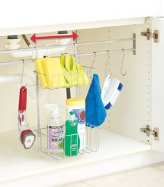 Adjustable Under-Cabinet Storage Systems