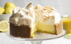 Ever had to choose between pie or cheesecake? Well, now you don't have to 'cos you can have both!