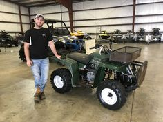 Congratulations to Corey Holifield from Soso, MS for purchasing a 1998 Yamaha Timberwolf from Hattiesburg Cycles. #yamaha