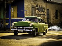 """""""Cuba Through 34 Eyes"""" April 23–May 17, 2014 @ Image City Photography Gallery, 722 University Avenue, Rochester, NY Pictured: Michelle Turner, Main St., Vinales."""