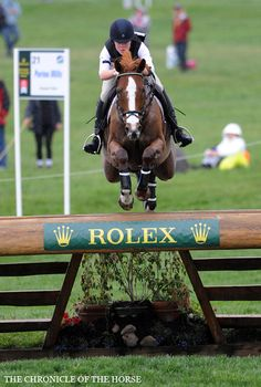 Emily Renfroe and Walk The Line at Rolex - Chronicle of the Horse #Eventing #glenlyon pony club.
