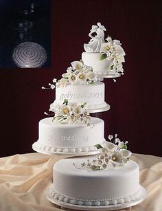 5 TIER WEDDING CAKE STAND STANDS 3 TIER CANDLE STAND - Layered Wedding Cake