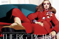 The Big Picture | Lindsey Wixson | Sharif Hamza #photography | Vogue Australia September 2012