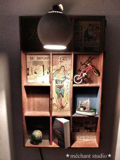PrintBox wall lamp
