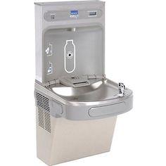 elkay ezh2o water refilling station wall mount vr light gray - Elkay Drinking Fountain