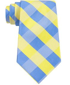 Nautica Splash Gingham Tie - Ties & Pocket Squares - Men - Macy's