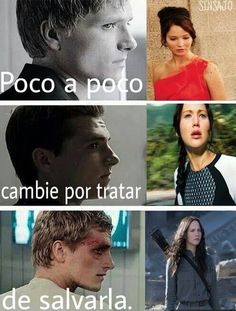 Gradually changed to try to save Hunger Games Memes, Hunger Games Trilogy, I Love Books, Good Books, Juegos Del Ambre, Hunter Games, Sad Comics, Katniss Everdeen, Book Memes