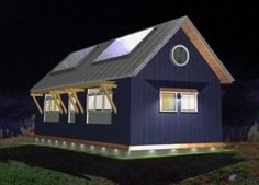 Bright Built Barn is Net-Zero Energy