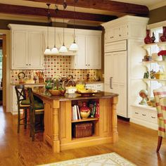 80 Tasty Kitchens | Country Kitchen | SouthernLiving.com