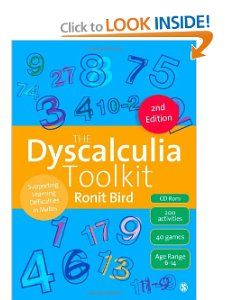 The Dyscalculia Toolkit: Supporting Learning Difficulties in Maths: Ronit Bird: 9781446267189: Amazon.com: Books