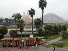 Peru, Lima, park F. Pizarra