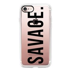 Nice Savage (black) - iPhone 7 Case, iPhone 7 Plus Case, iPhone 7 Cover,... ($40) ❤ liked on Polyvore featuring accessories... 2017-2018 Check more at http://technoboard.info/2017/?product=savage-black-iphone-7-case-iphone-7-plus-case-iphone-7-cover-40-%e2%9d%a4-liked-on-polyvore-featuring-accessories-2017-2018