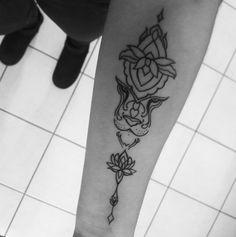 Tattoo#liontattoo#mandalatattoo#