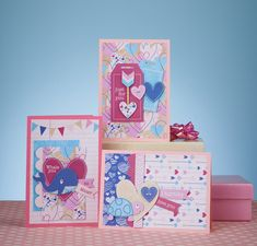 Show your sweetie how much they mean to you on 14th February with a card made with these adorable Valentine's papers and toppers by Jenny Ellory. Fresh, modern heart prints in vibrant shades of pink and blue make this one super-stylish collection. We also can't resist a pun here at Pi HQ and so we... Continue reading →