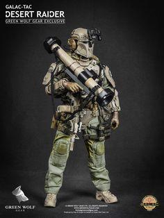 Green Wolf Gear Galac-Tac Desert Raider Exclusive Version - 002
