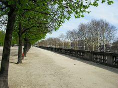 Jardins des Tuileries - Paris, França