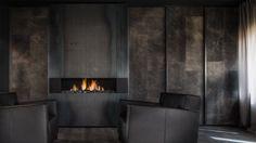 Resultado de imagen para modern fireplace