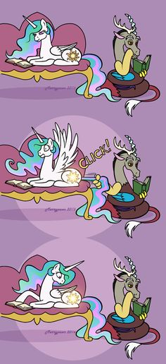 Read from the story MLP Discord X Reader Oneshots by iizpotato (TheEdgyDuck) with reads. Princesa Celestia, Celestia And Luna, My Little Pony Comic, My Little Pony Pictures, Mlp Comics, Funny Comics, Mlp Memes, Funny Memes, Imagenes My Little Pony