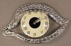 Eye clock pin
