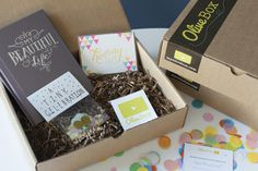 OliveBox — Monthly Subscription Service for Paper Lovers.