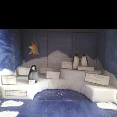 Emperor Penguin diorama project...