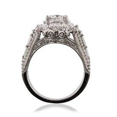18KT White Gold 2.34ctw Diamond Ring - Longfellow Auctions