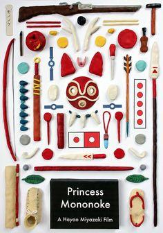 Studio Ghibli's Objects made with Plasticine by Jordan Bolton – Fubiz Media