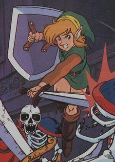 Link's Awakening early concept art
