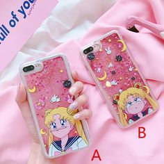 Bright Japen Cartoon Newest Instagram Popular Anime Sailor Moon Soft Case For Iphone 6 6s 7 7plus 8 X Xr Xs Max Tsukino Usagi Girl Case Phone Bags & Cases